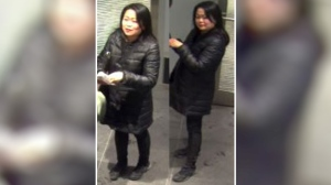 Police are looking for this person of interest after an alleged fraud at the Rideau Centre.