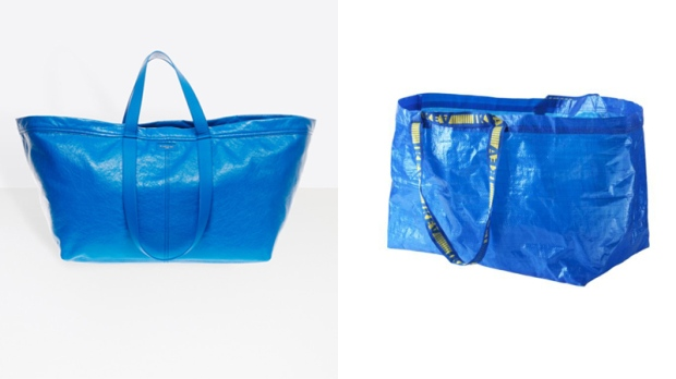 1af2a084f66 Balenciaga's new $3,000 tote looks like Ikea's $1 shopping bag ...