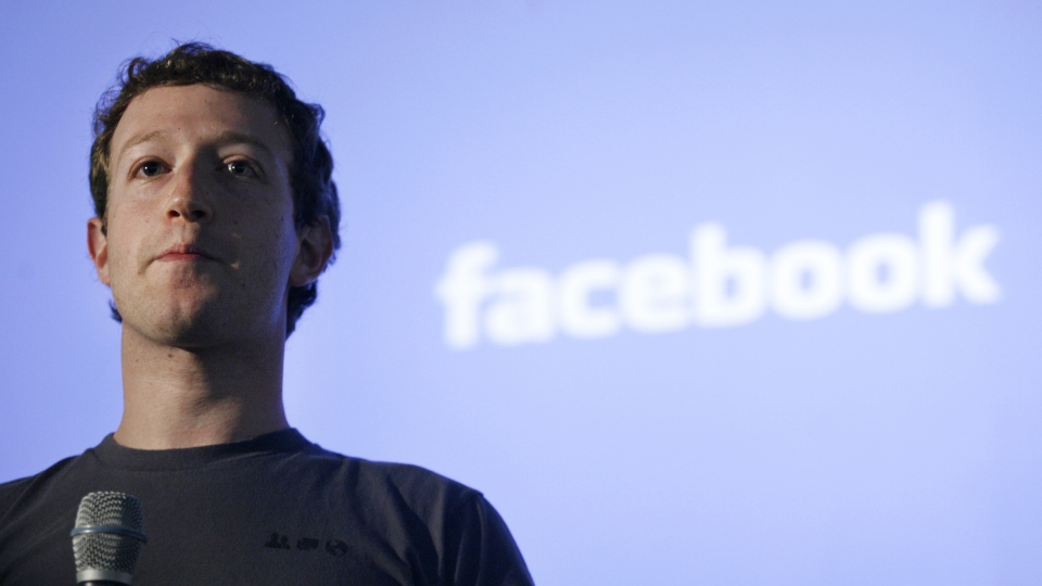 Mark Zuckerberg, CEO of Facebook, is shown. (AFP / Kimihiro Hoshino)