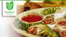 Foodland Ontario - Asian Wraps