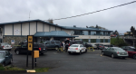 A man was shot and killed in the lobby of the Howard Johnson Hotel on Terminal Avenue early Wednesday morning. Apr. 19, 2017 (CTV Vancouver Island)