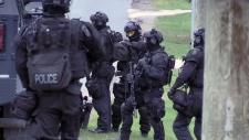 Police in Breslau