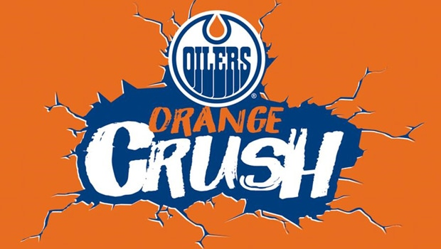 Edmonton Oilers Orange Crush