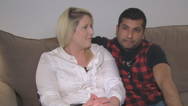 Stevi Newman and her husband Aman Kaushik said their vacation was ruined after Kaushik's passport was ripped.