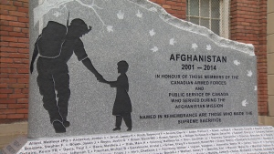 The Greater Victoria Afghanistan Memorial lists the names of 163 men and women who made the supreme sacrifice during the mission.  Apr. 19, 2017 (CTV Vancouver Island)