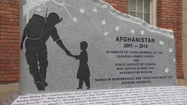 Afghan memorial