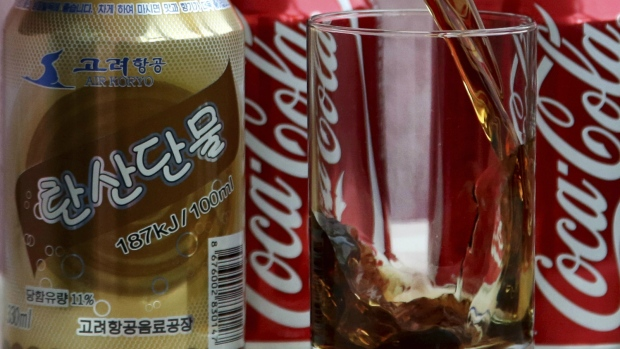 Counterfeit coke in North Korea