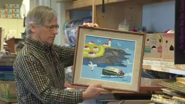 Used Mobility Scooters For Sale >> Bidding on Maud Lewis painting passes $125,000 | CTV ...