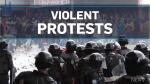 Mass protests turn violent in Venezuela