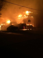 A home burned to the ground in Camlachie,Ont. (Courtesy OPP)