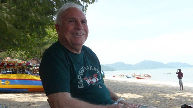 Harvey Kells, 81, contracted necrotizing fasciitis, also known as flesh-eating bacteria, while on a beach vacation in Thailand.