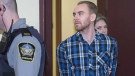 William Sandeson arrives for the start of his preliminary hearing at provincial court in Halifax on February 8, 2016. (THE CANADIAN PRESS/Andrew Vaughan)