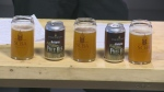 Saskatchewan Craft Brewers Association shows off their first collaborative beer.
