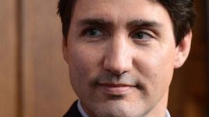 Prime Minister Justin Trudeau on Parliament Hill in Ottawa on April 19, 2017. (THE CANADIAN PRESS / Sean Kilpatrick)