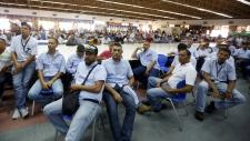 At the GM plant in Valencia, Venezuela