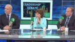 Tense moments during election debate broadcast