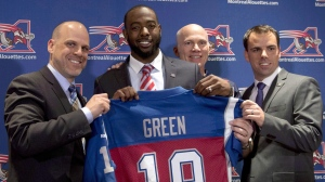 The Toronto Argonauts acquired all-star receiver S.J. Green from the Montreal Alouettes in 2017. (Ryan Remiorz/The Canadian Press)