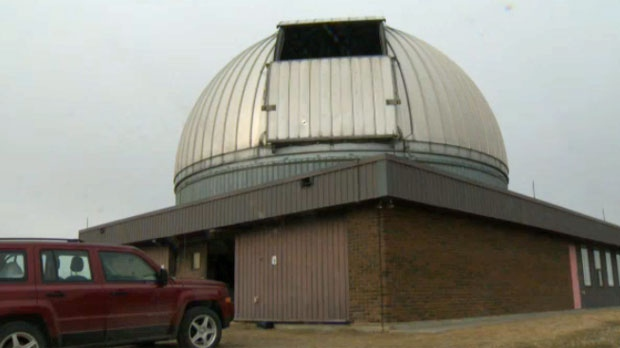 The Rothney Observatory may have difficulty looking at the night sky due to light from the ring road.