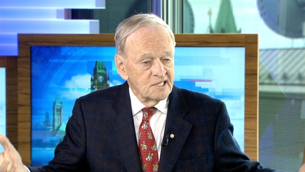 Former prime minister Jean Chretien speaks about marijuana legalization, Donald Trump and the future of NAFTA with CTV's Power Play on Thursday, April 20, 2017.