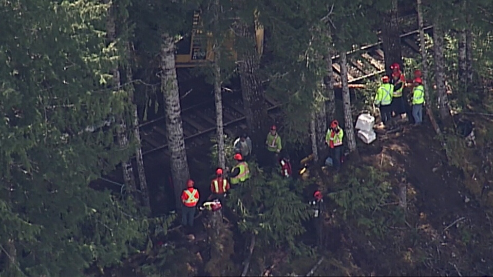 The crash happened in the Cougar Crescent area of Woss, a region about 130 kilometres north of Campbell River. (CTV)