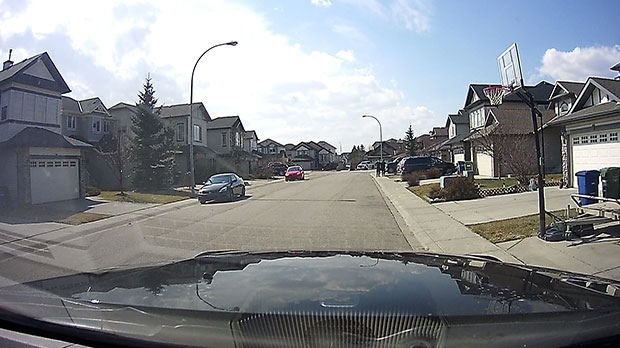 Still image from dash camera of suspects 2 and 3.