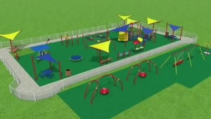 Parents raising money for accessible playground