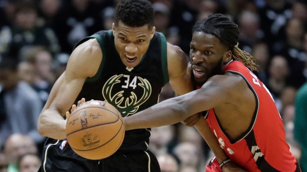 Toronto Raptors VS Milwaukee Bucks NBA Playoffs