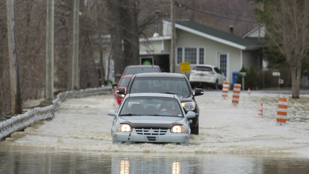 Flooding in Quebec
