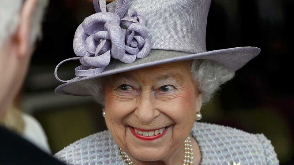 This is a Tuesday, April 11, 2017 file photo of Queen Elizabeth as she meets residents during a visit to Priory View, an independent living scheme for older residents, in Dunstable, England, Tuesday, April 11, 2017. Britain's Queen Elizabeth celebrates her 91st birthday on Friday, April 21, 2017. (Peter Nicholls/Pool Photo, File via AP)