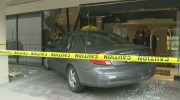 CTV Atlantic: Taxi crashes into lobby of hotel