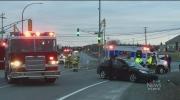 CTV Atlantic: Vehicles collide after truck fails