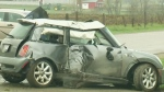 Driver killed as car hits hydro pole