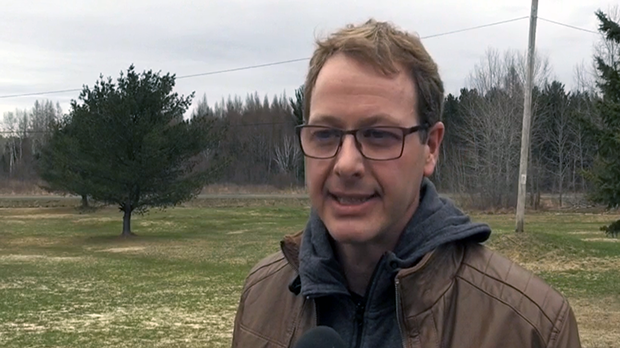 Jules Lalonde said Beaver Lake residents are concerned about their safety.