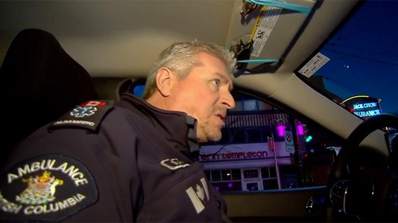 Paramedic Brian Twaites