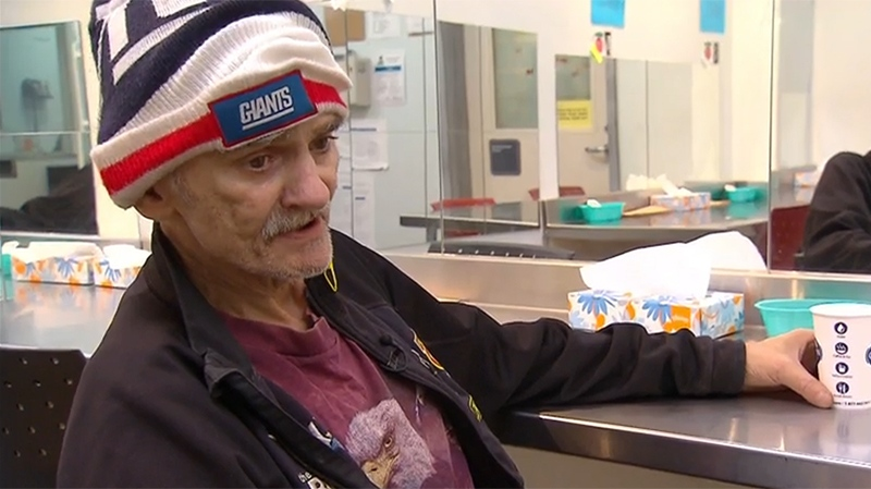 John Pinkney uses medical grade, prescription heroin legally at the clinic. He tells W5 it has saved his life.