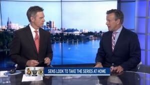 CTV Ottawa: Sens look to take the series at home