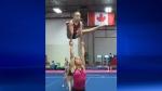 Anastasia Sizov & Paisley Hartl are gold-winning sports acrobats.