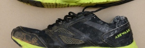 "Size 11, black ""Airwalk"" running shoes"