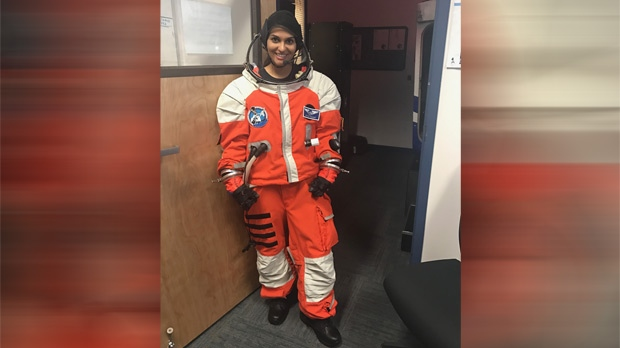 Earlier this month, Dr. Nirvani Umadat went to Florida for a NASA-affiliated program called Project Possum.