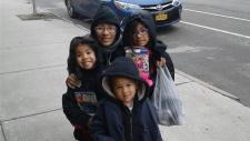 Forero family in New York