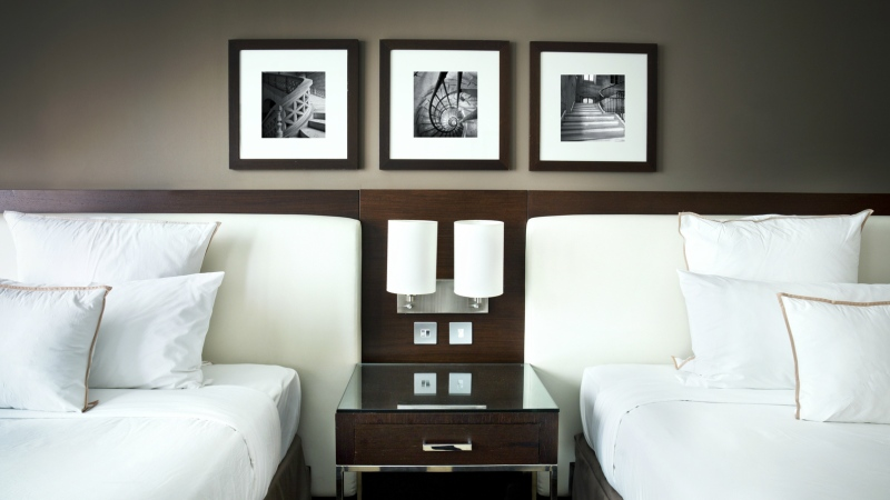 A hotel room is seen in this undated file photo. (© Nikada/Istock.com)