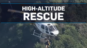 California man plucked from cliffside