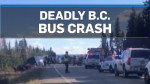 One dead in B.C. Greyhound bus crash