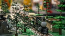 Crowds of the young and young at heart flocked to Richmond, B.C. to take in BrickCan 2017, Canada's largest public LEGO Exhibition. (Anil Sharma for CTV News)