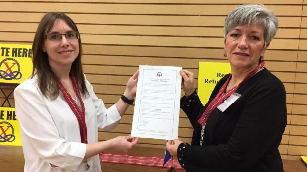 The Métis Nation in Saskatchewan has officially called its election (Mark Villani / CTV Saskatoon)
