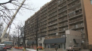 Towers Realty Group said they hope to have the elevators up and running by Wednesday or Thursday this coming week.