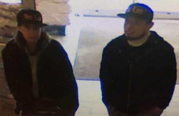 EPS are asking for the public's assistance to identify two people connected to the death of a toddler in north Edmonton. Supplied.