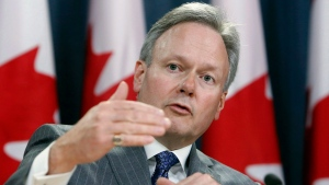 Stephen Poloz, Governor of the Bank of Canada, holds a news conference after the release of the bank's Monetary Policy Report, in Ottawa, Wednesday, April 12, 2017. (THE CANADIAN PRESS/Fred Chartrand)