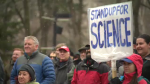 March for science in Edmonton