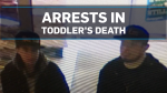 Charges pending against pair in dead toddler case
